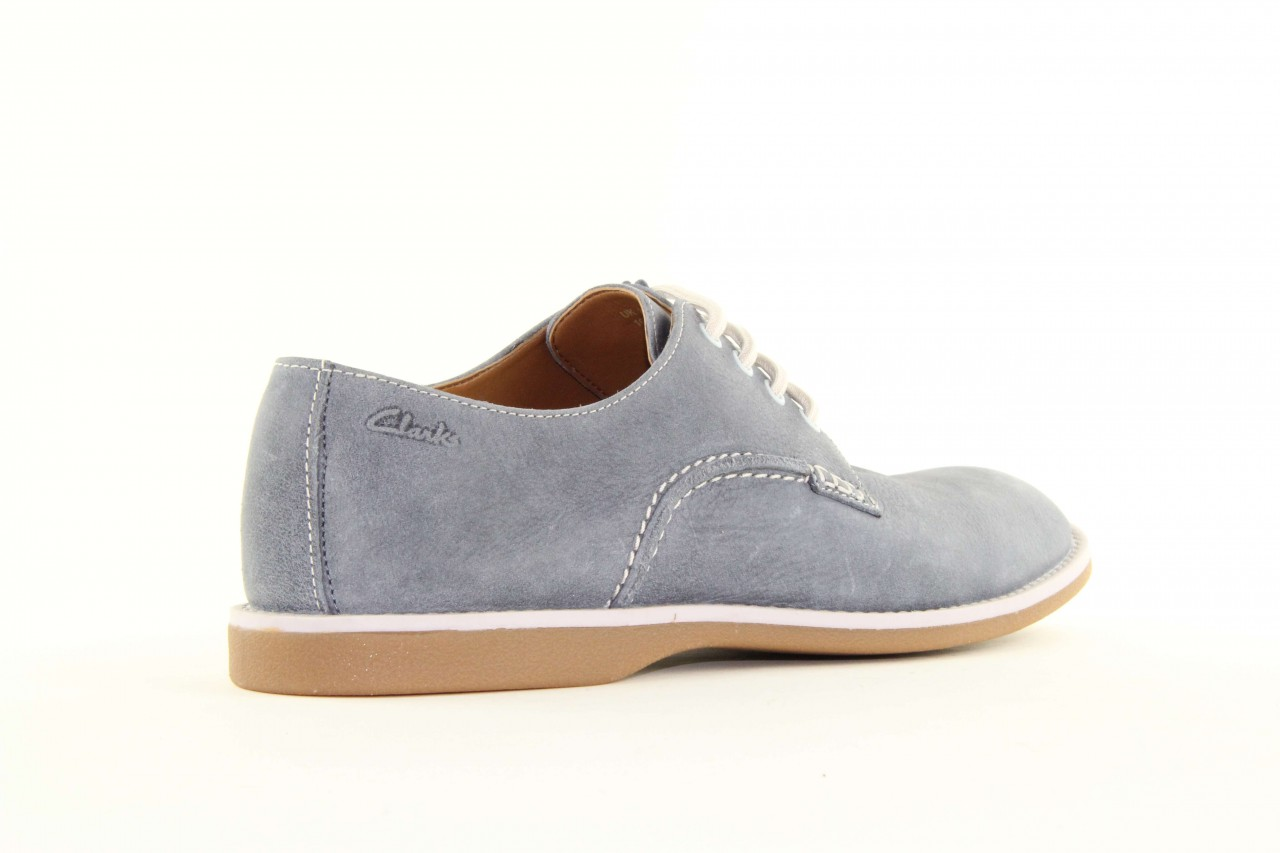 Clarks farli walk denim blue lea 4