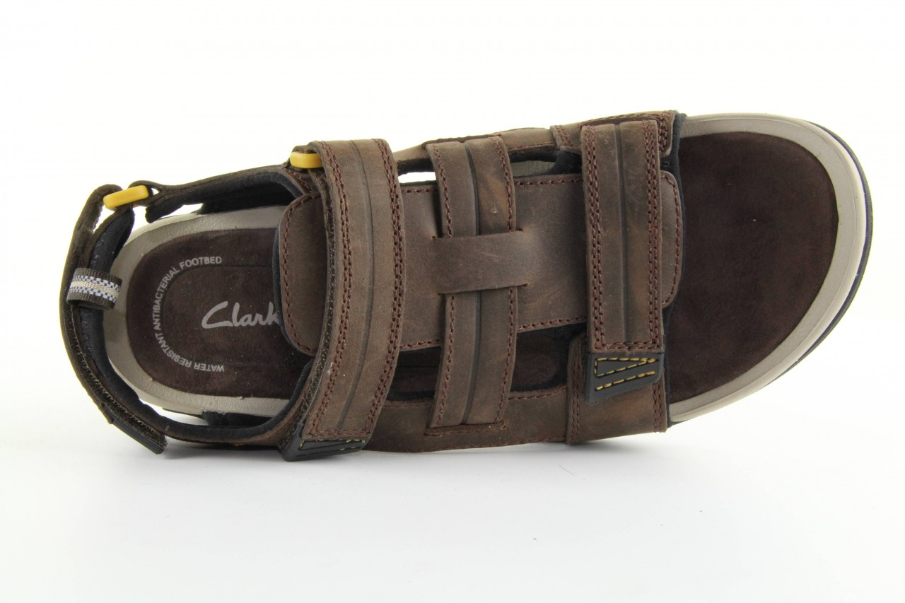Clarks victus cove dark brown 14