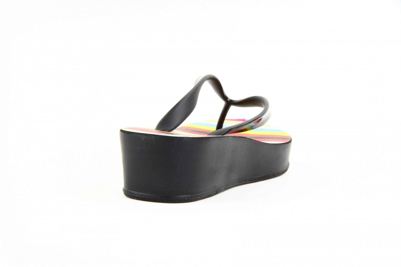 Klapki dijean 256 779 black stripes, czarny, guma - piankowe - klapki - buty damskie - kobieta 6