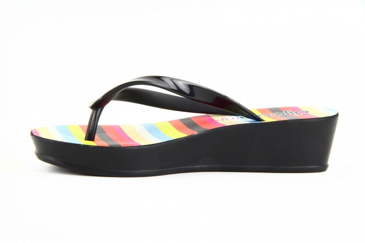 Klapki dijean 256 779 black stripes, czarny, guma - piankowe - klapki - buty damskie - kobieta 7