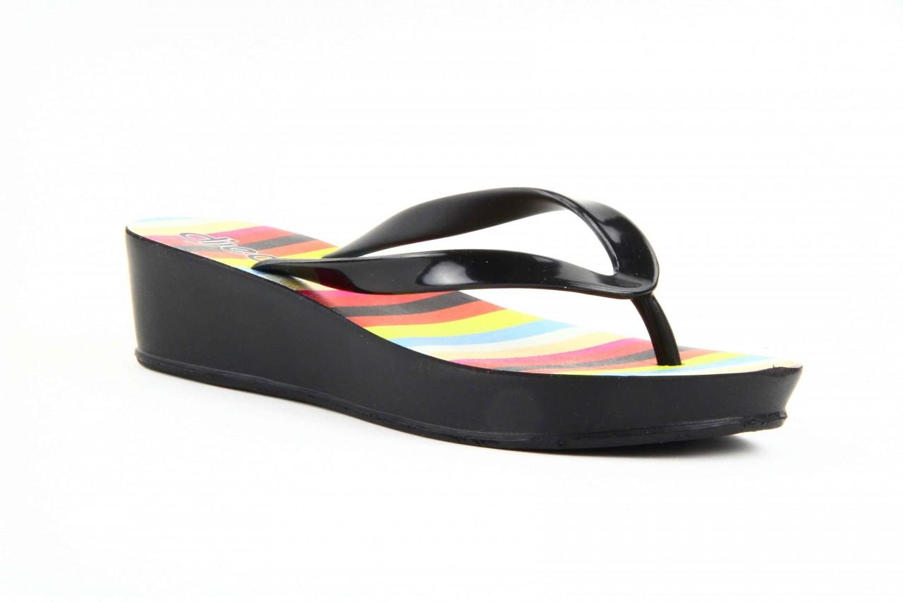 Klapki dijean 256 779 black stripes, czarny, guma - piankowe - klapki - buty damskie - kobieta 9