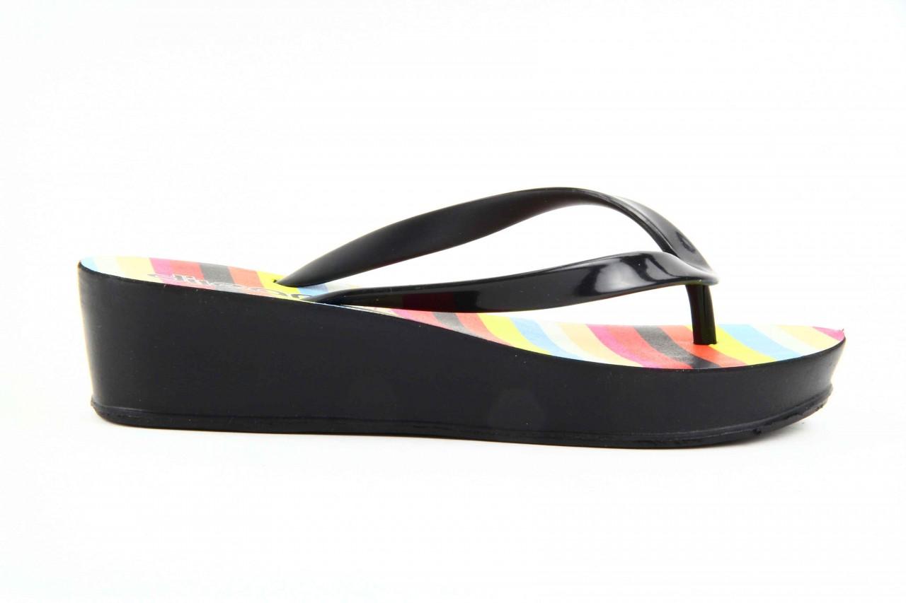Klapki dijean 256 779 black stripes, czarny, guma - piankowe - klapki - buty damskie - kobieta 10