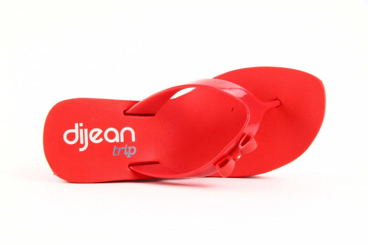 Klapki dijean 258 706 red, czerwony, guma - dijean - nasze marki 11