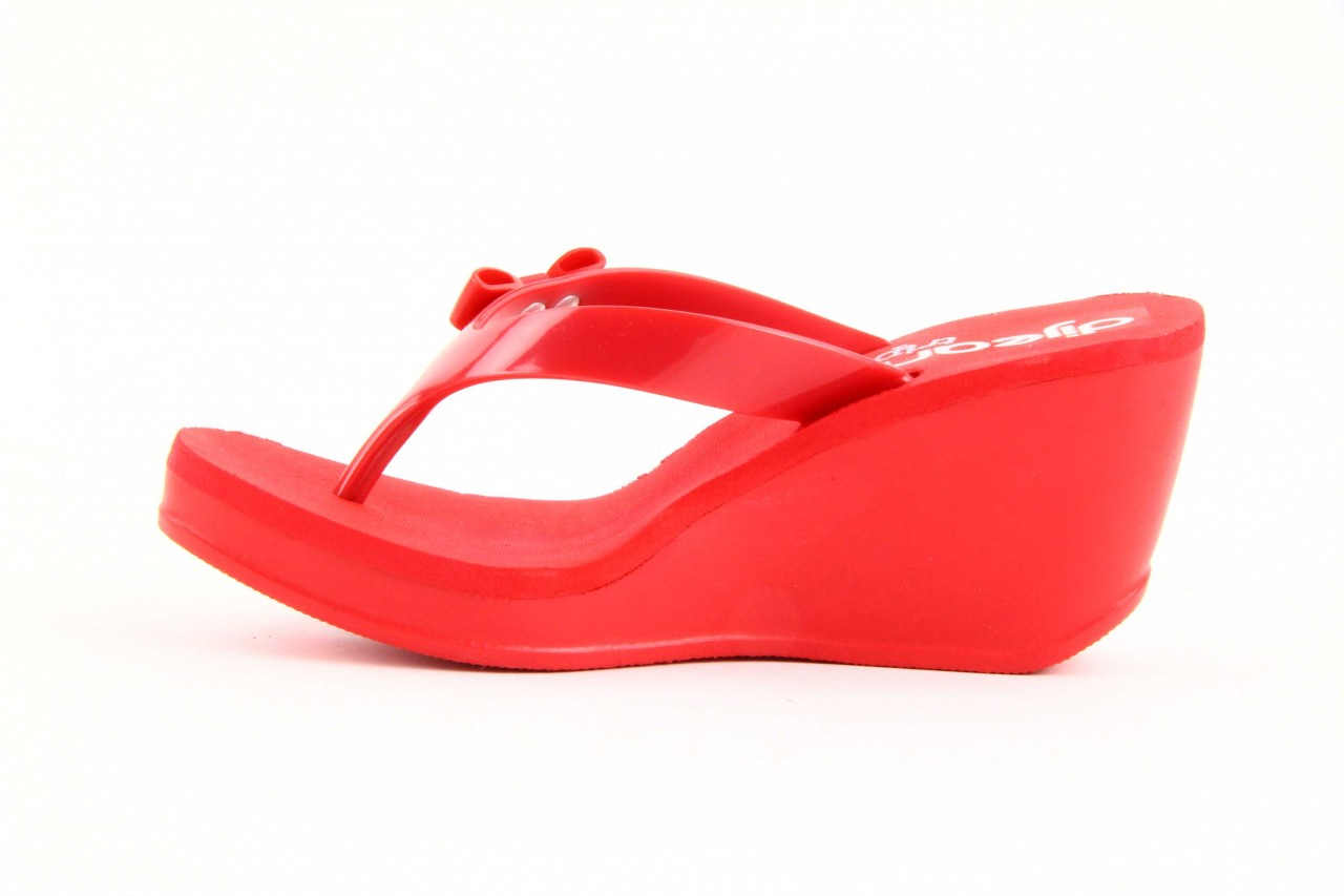 Klapki dijean 258 706 red, czerwony, guma - dijean - nasze marki 8