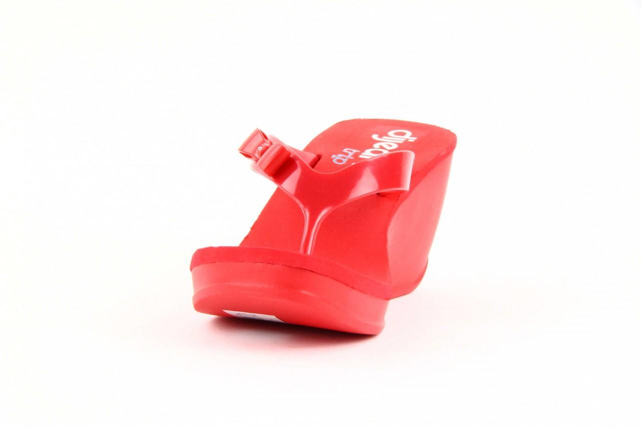 Klapki dijean 258 706 red, czerwony, guma - dijean - nasze marki 7