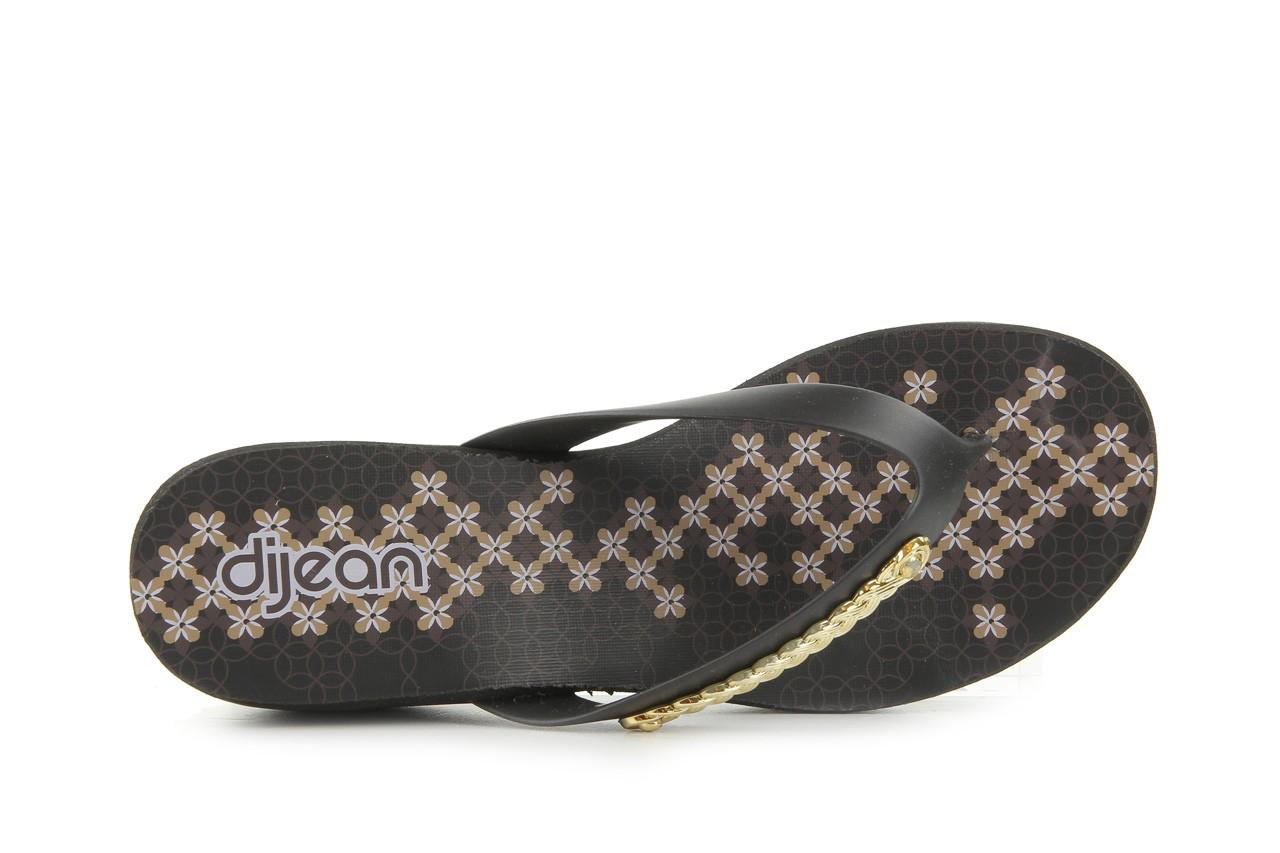 Klapki dijean 260 002 black vitral, czarny, guma - dijean - nasze marki 10