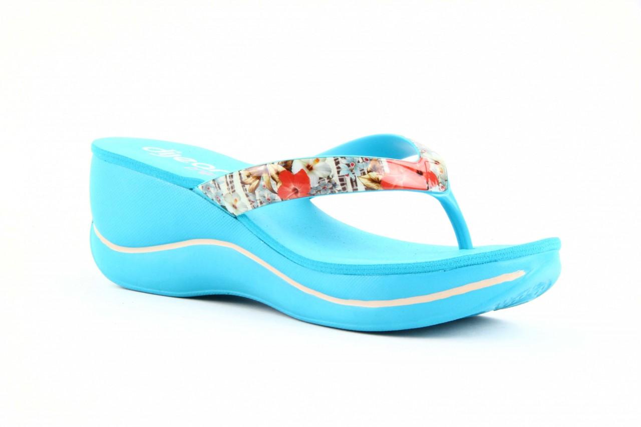 Klapki dijean 260 718 ocean, niebieski, guma - piankowe - klapki - buty damskie - kobieta 10