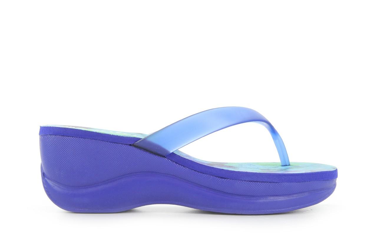Klapki dijean 260 982 abstract blue, niebieski, guma - dijean - nasze marki 5