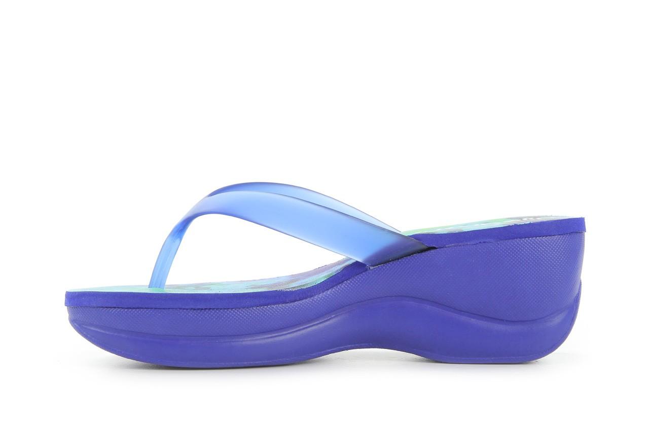 Klapki dijean 260 982 abstract blue, niebieski, guma - dijean - nasze marki 7