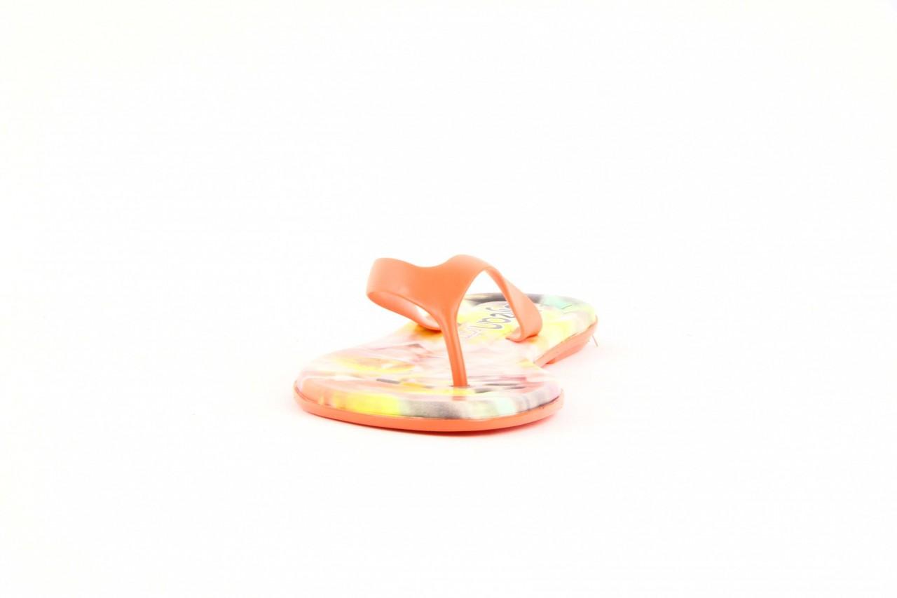 Klapki dijean 261 662 tangerine-flowr, pomarańczowy, guma 7