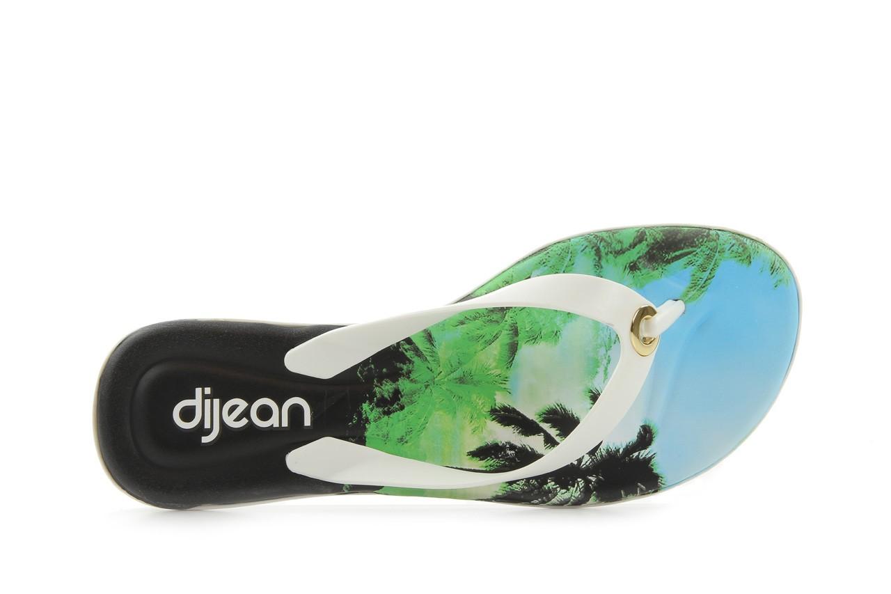 Klapki dijean 261 984 whit palm trees, biały, guma - dijean - nasze marki 9