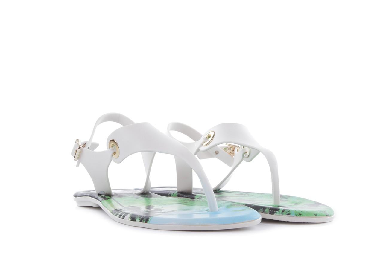 Sandały dijean 261 985 whit palm trees, biały, guma - japonki - sandały - buty damskie - kobieta 7