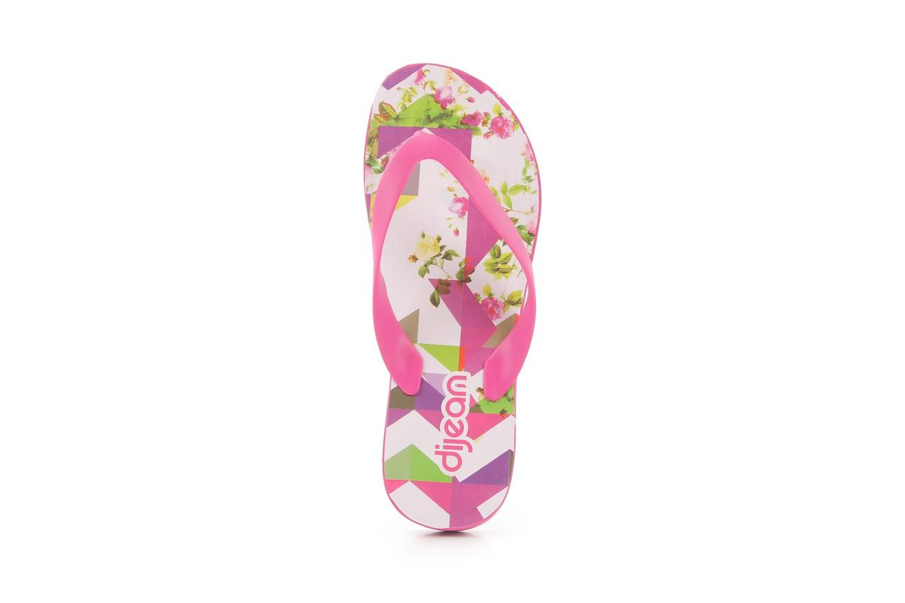 Klapki dijean 278 995 violet multi, róż, guma - dijean - nasze marki 8