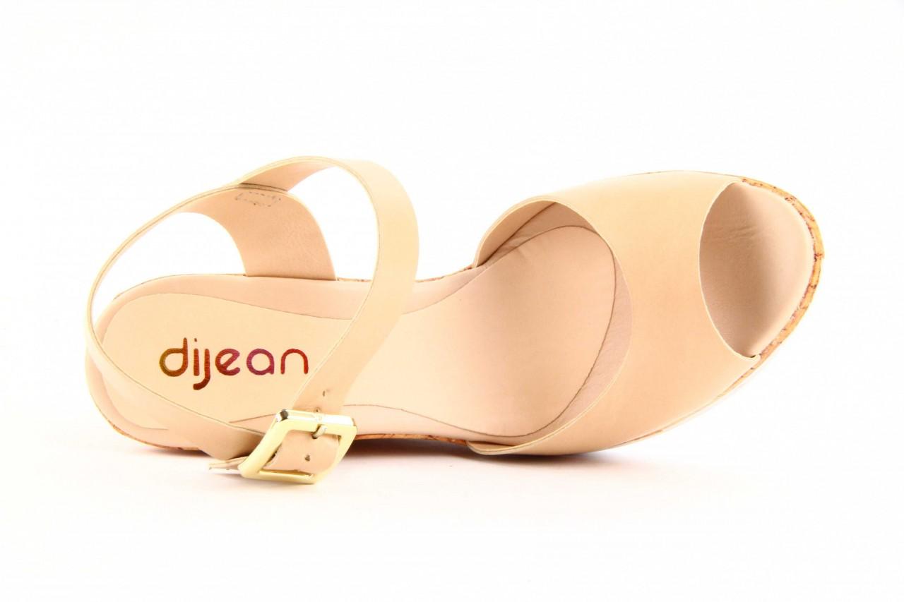 Sandały dijean 457 720 at. blush beige, beż, skóra ekologiczna  - dijean - nasze marki 8