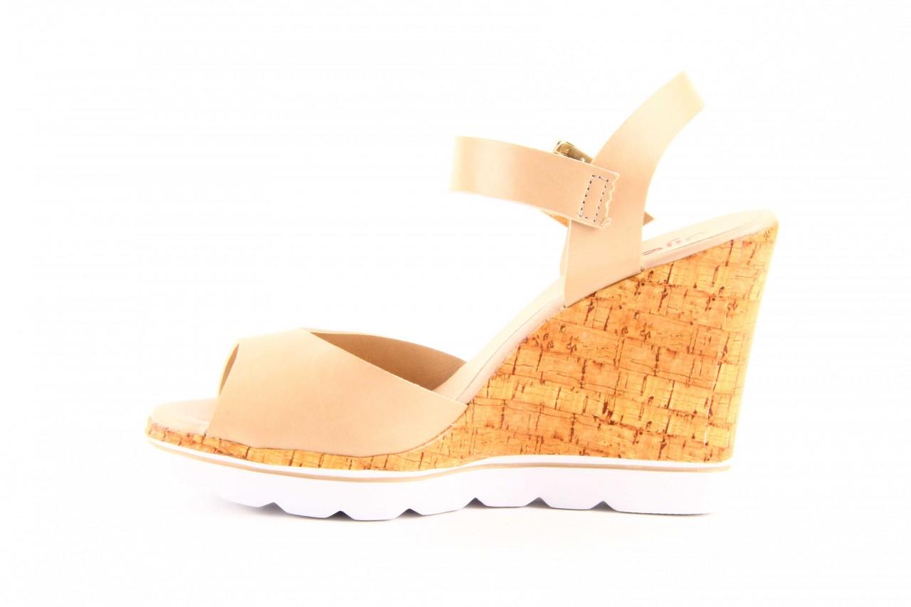 Sandały dijean 457 720 at. blush beige, beż, skóra ekologiczna  - dijean - nasze marki 10