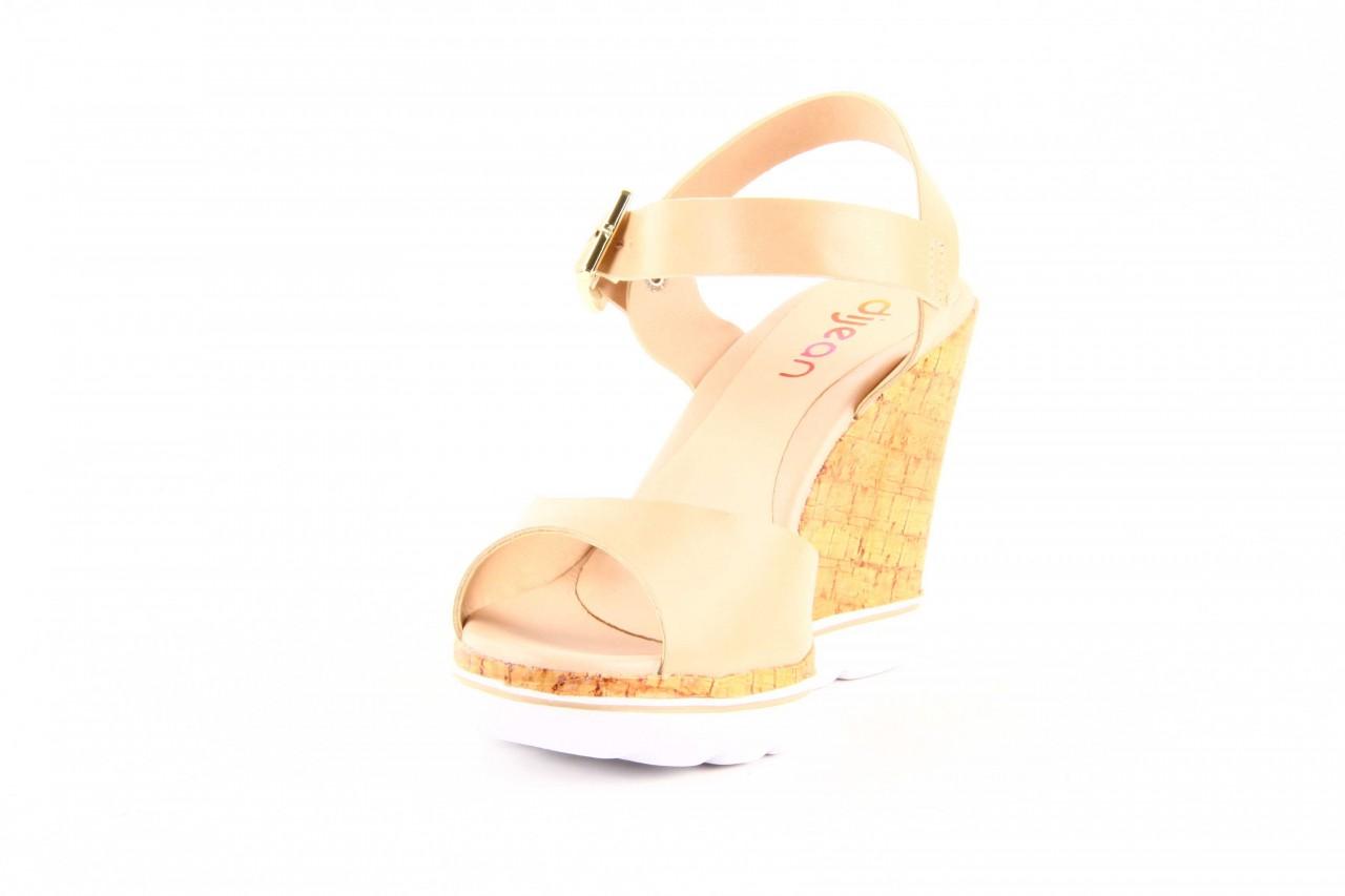Sandały dijean 457 720 at. blush beige, beż, skóra ekologiczna  - dijean - nasze marki 6