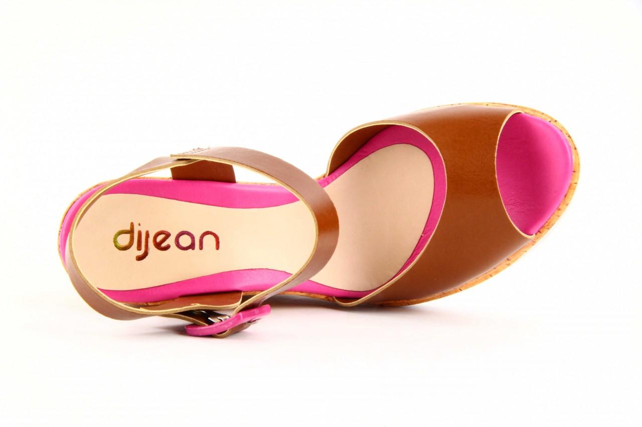 Sandały dijean 457 720 at. hazelnt mag, brąz, skóra naturalna - dijean - nasze marki 9