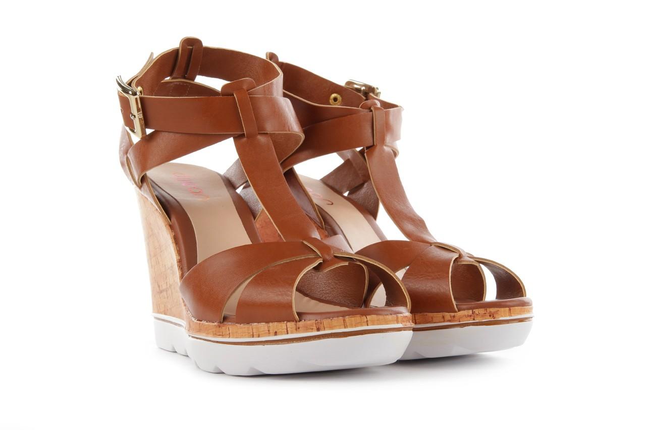 Sandały dijean 457 721 at. hazelnt, brąz, skóra naturalna  - dijean - nasze marki 8