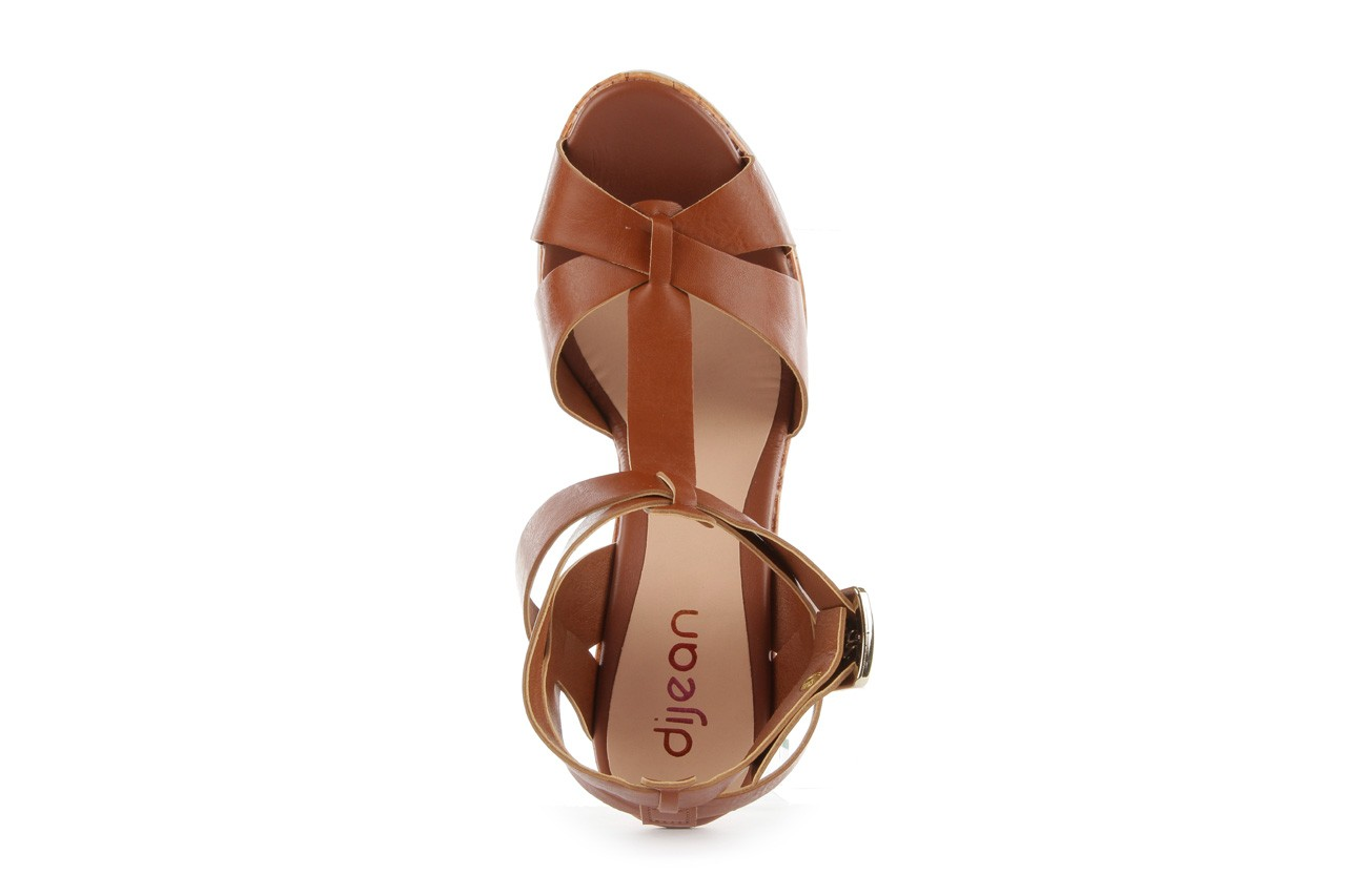 Sandały dijean 457 721 at. hazelnt, brąz, skóra naturalna  - dijean - nasze marki 11