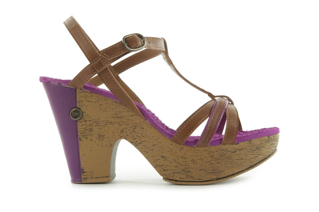 Sandały dijean 720 723 whisky/purple, brąz/fiolet, skóra ekologiczna - dijean - nasze marki 7
