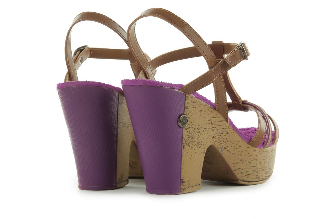 Sandały dijean 720 723 whisky/purple, brąz/fiolet, skóra ekologiczna - dijean - nasze marki 10
