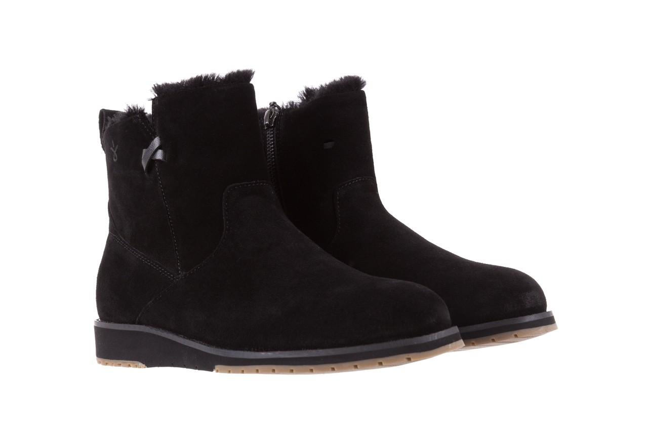 Śniegowce emu beach mini black 19, czarny, skóra naturalna  - śniegowce - śniegowce i kalosze - buty damskie - kobieta 7