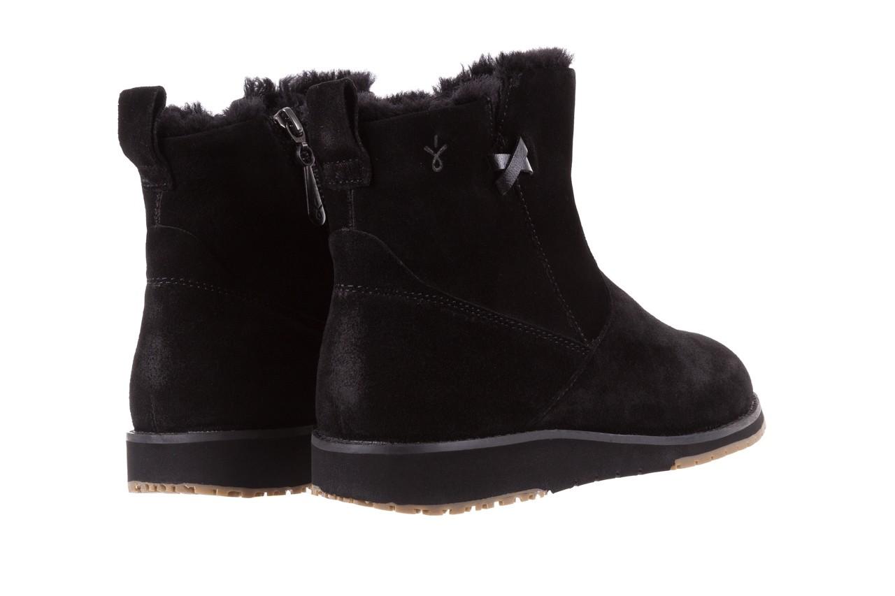 Śniegowce emu beach mini black 19, czarny, skóra naturalna  - śniegowce - śniegowce i kalosze - buty damskie - kobieta 9