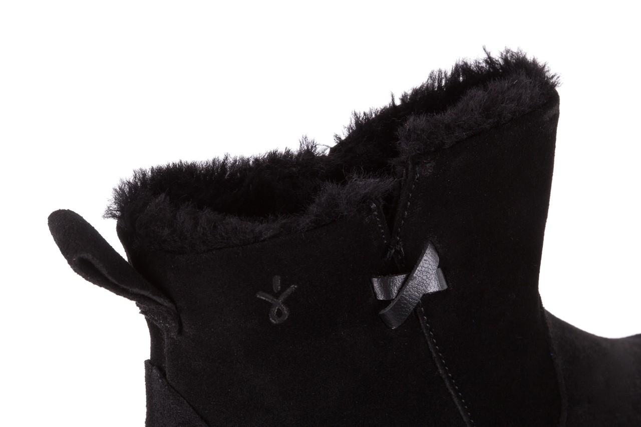 Śniegowce emu beach mini black 18, czarny, skóra naturalna  - emu - nasze marki 11