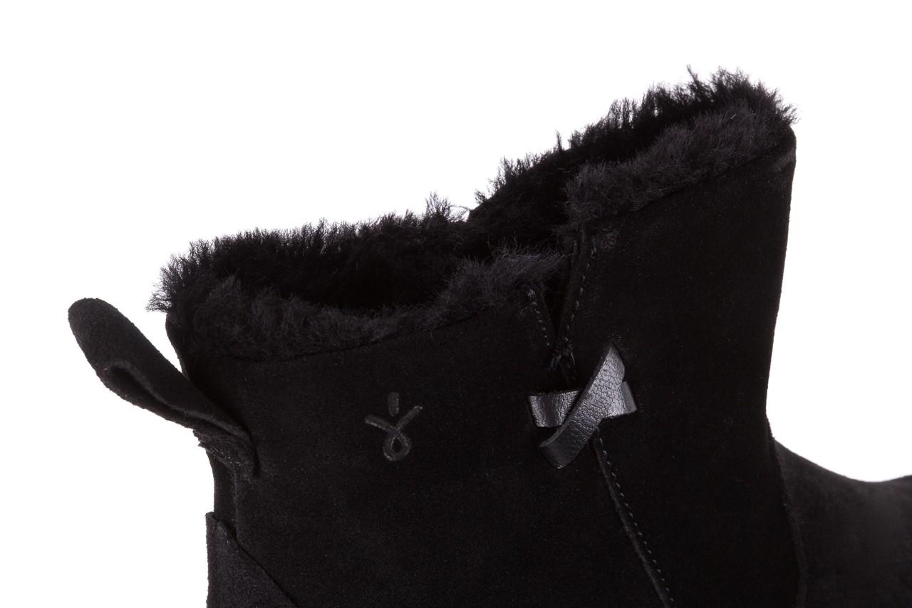 Śniegowce emu beach mini black 19, czarny, skóra naturalna  - śniegowce - śniegowce i kalosze - buty damskie - kobieta 11