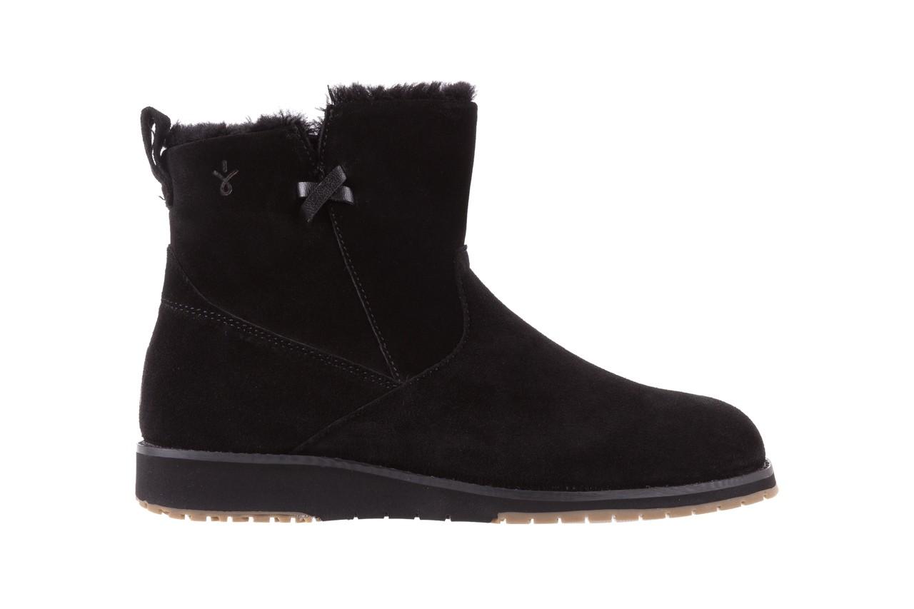 Śniegowce emu beach mini black 19, czarny, skóra naturalna  - śniegowce - śniegowce i kalosze - buty damskie - kobieta 6