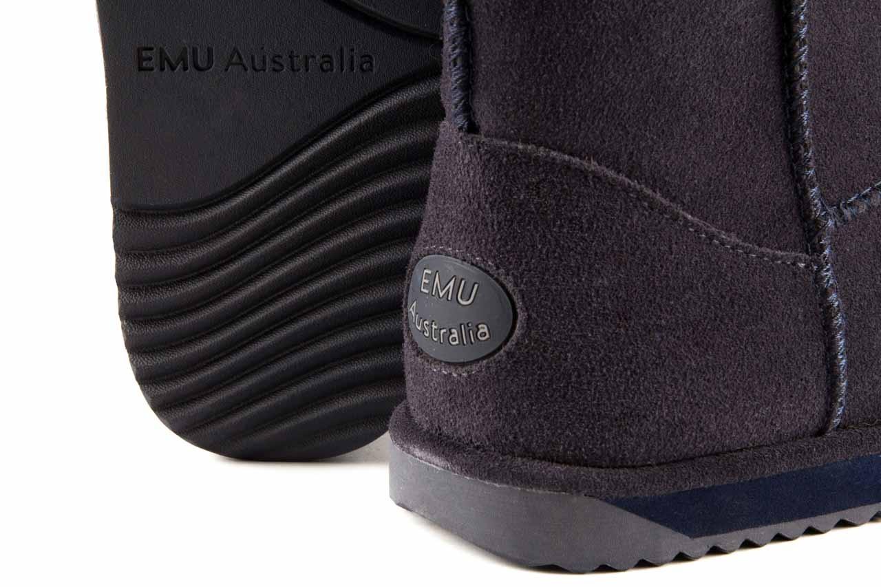 Śniegowce emu paterson lo indigo, granat, skóra naturalna - emu - nasze marki 11