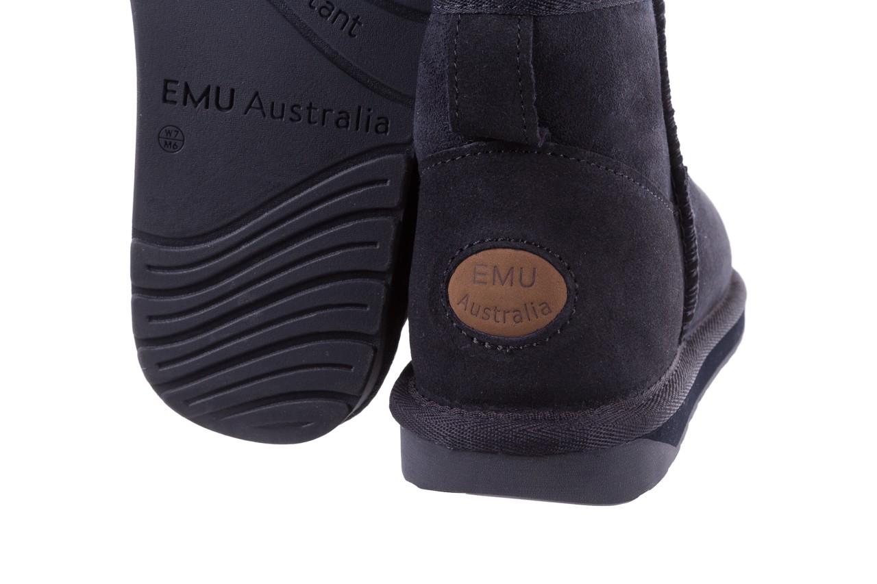 Śniegowce emu stinger micro midnight 18, granat, skóra naturalna  - emu - nasze marki 11
