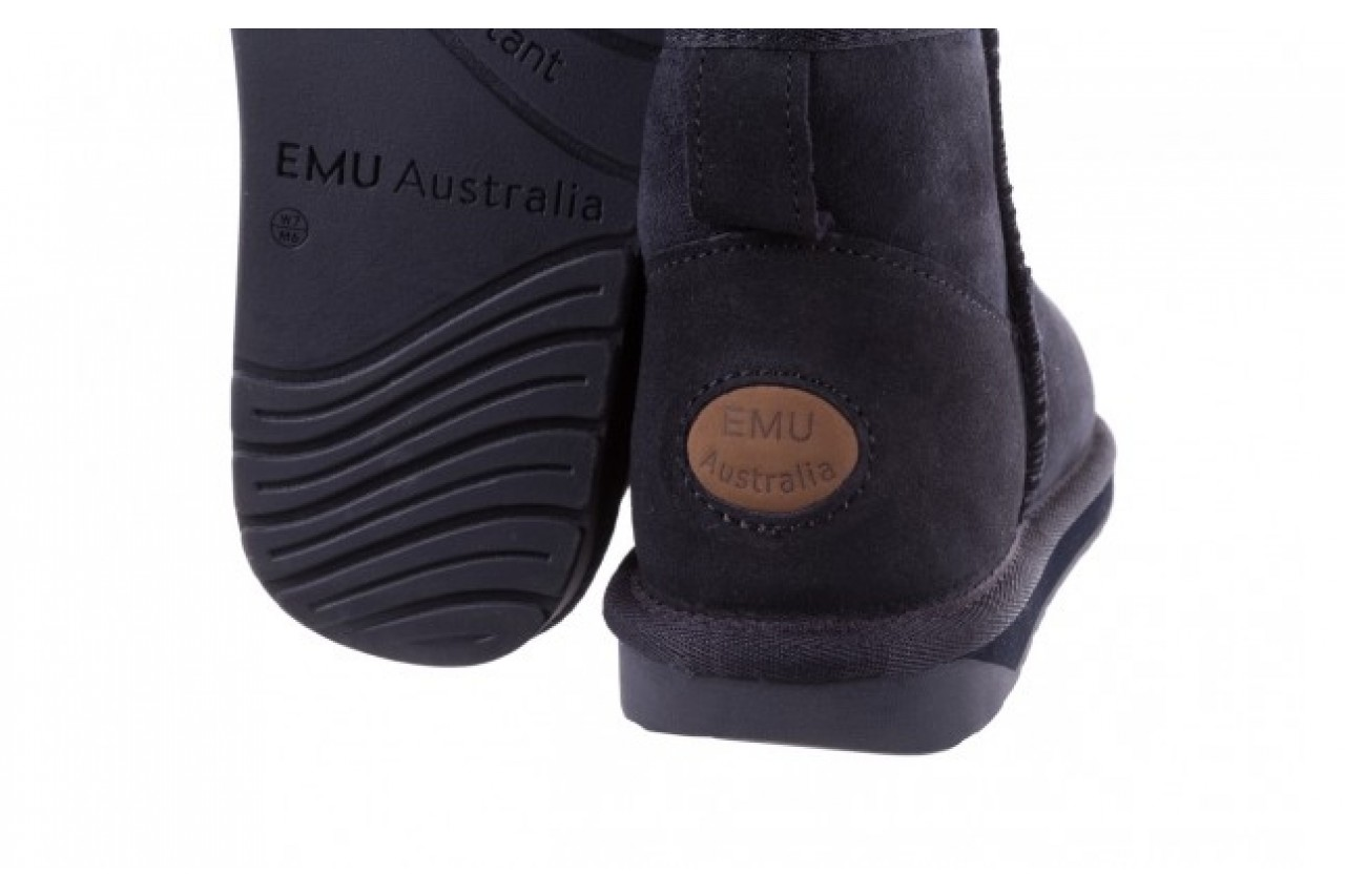Śniegowce emu stinger micro midnight 19, granat, skóra naturalna 11