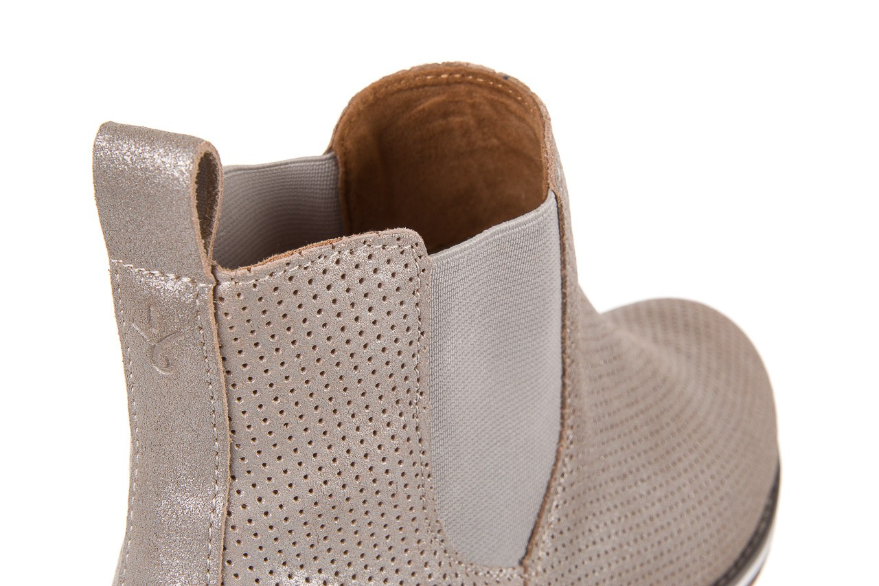 Sztyblety emu taria silver, srebrny, skóra naturalna  - sztyblety - botki - buty damskie - kobieta 10