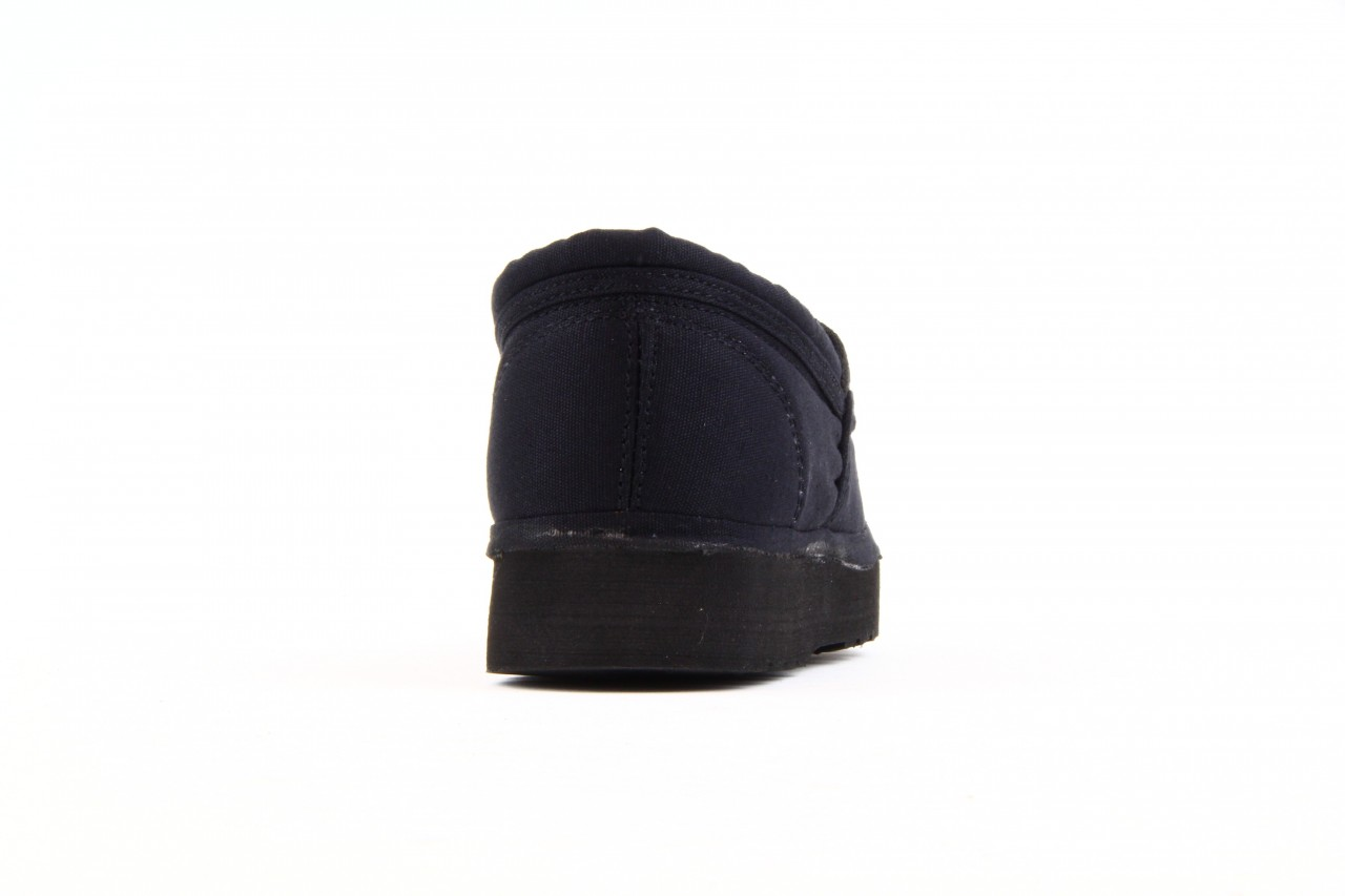 Półbuty fancy elastic black, czarny, materiał  - rock - nasze marki 6
