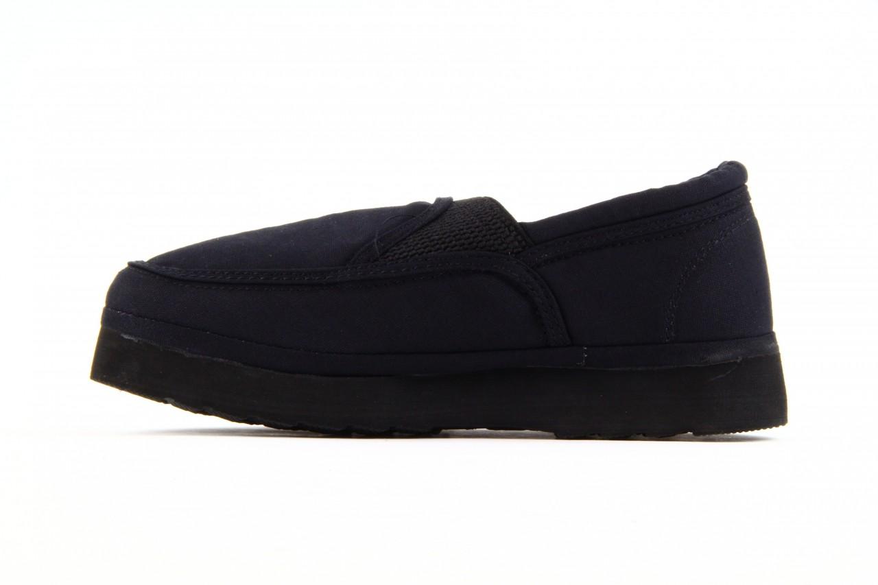 Półbuty fancy elastic black, czarny, materiał  - rock - nasze marki 11