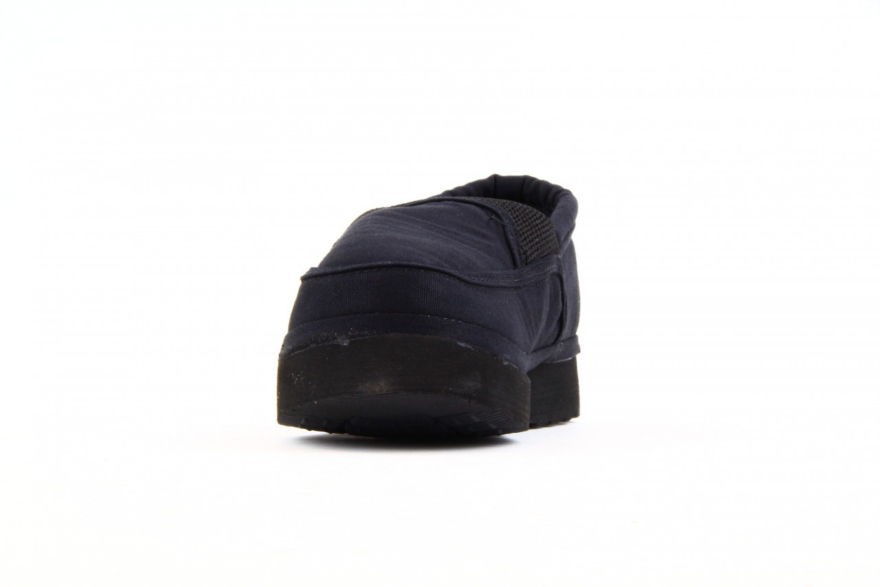 Półbuty fancy elastic black, czarny, materiał  - rock - nasze marki 7
