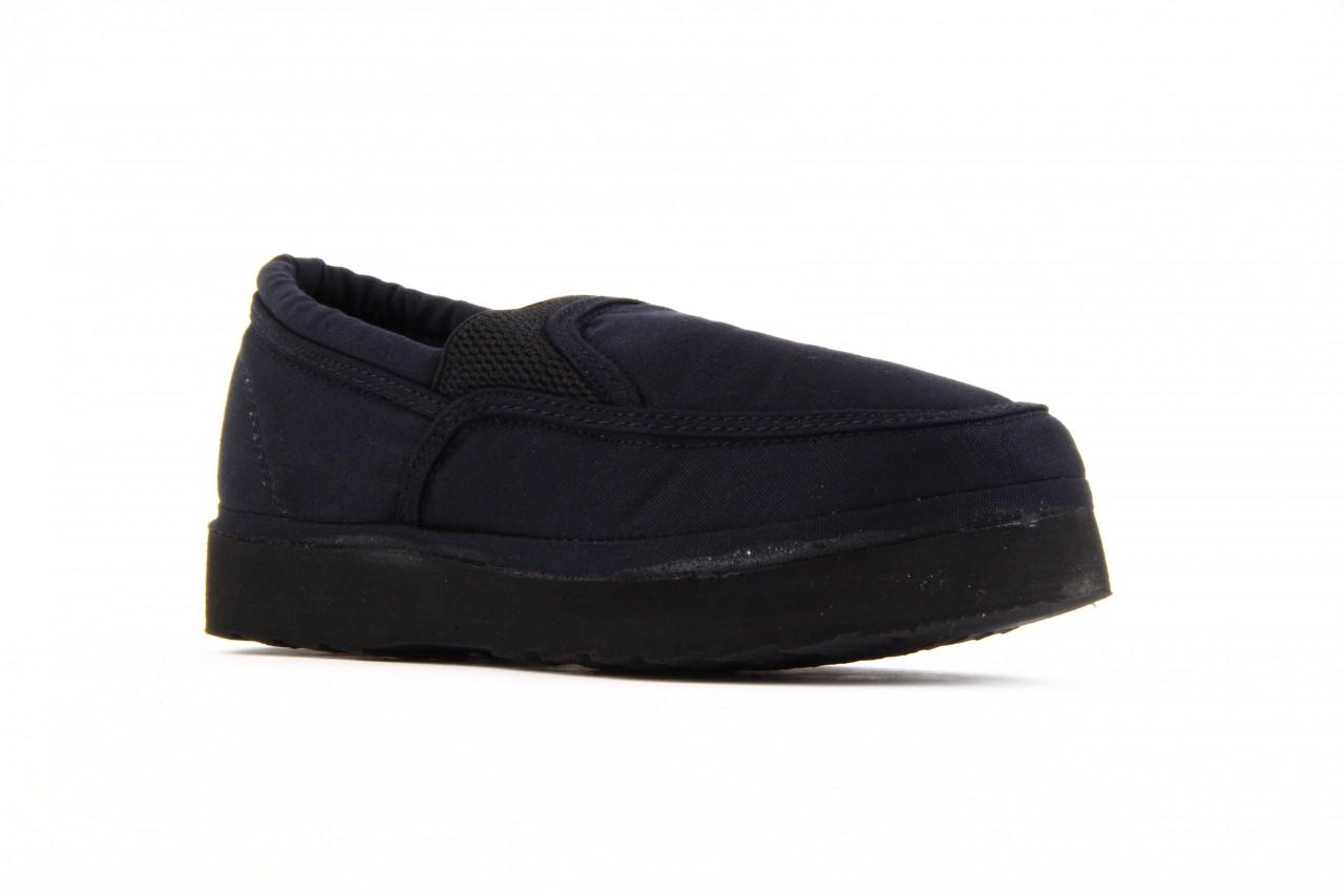 Półbuty fancy elastic black, czarny, materiał  - rock - nasze marki 9
