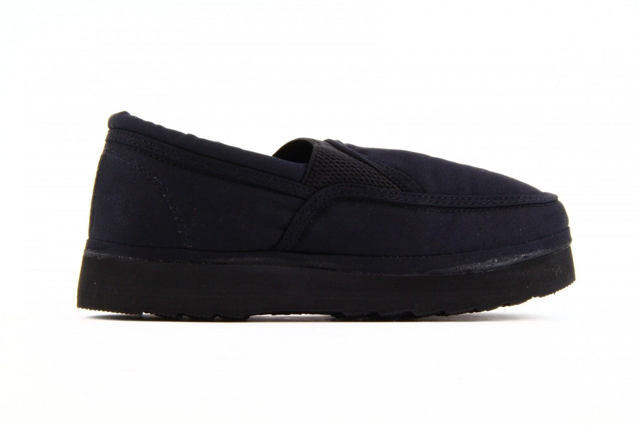 Półbuty fancy elastic black, czarny, materiał  - rock - nasze marki 8