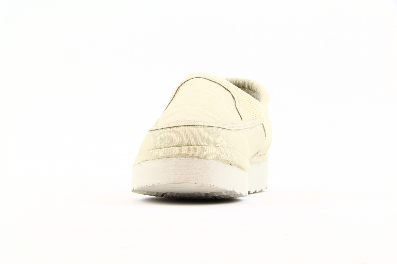Półbuty fancy elastic ivory, beż, materiał  - rock - nasze marki 7