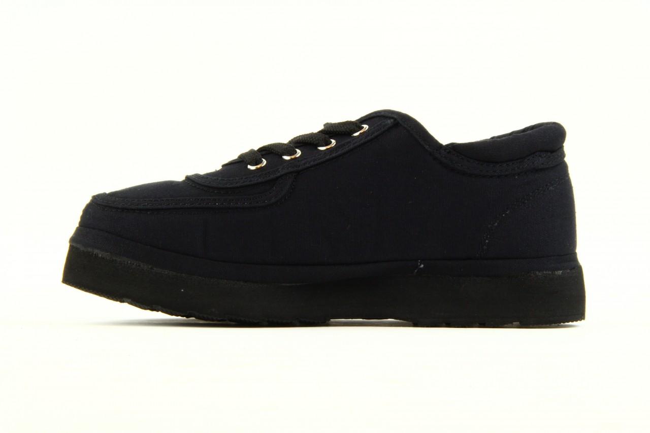 Półbuty fancy lace black, czarny, materiał 9