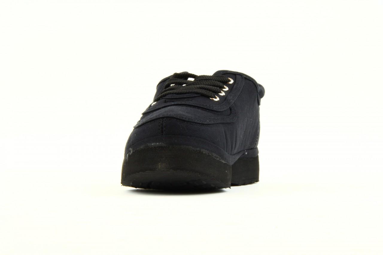 Półbuty fancy lace black, czarny, materiał 7