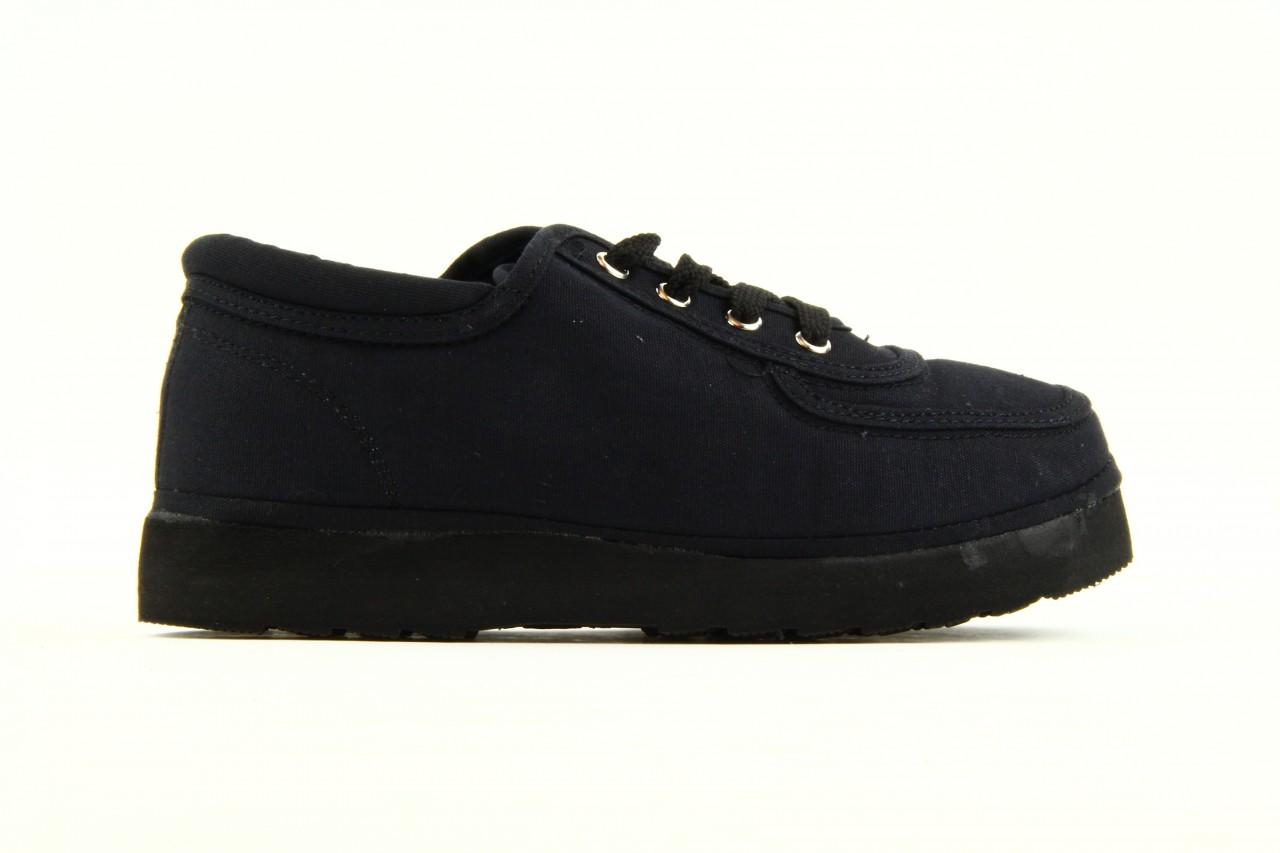Półbuty fancy lace black, czarny, materiał 11