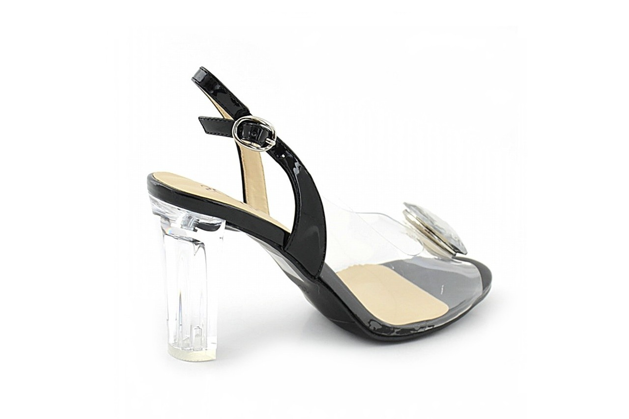Sandały sca'viola g-17 black, czarny, silikon - sca`viola - nasze marki 3