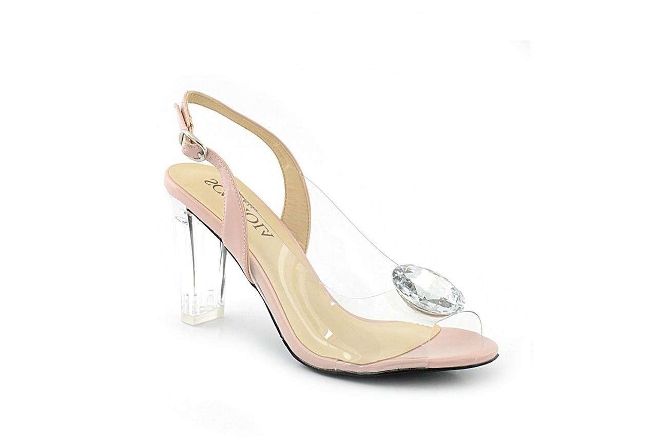 Sandały sca'viola g-17 l.pink, róż, silikon - sca`viola - nasze marki 2