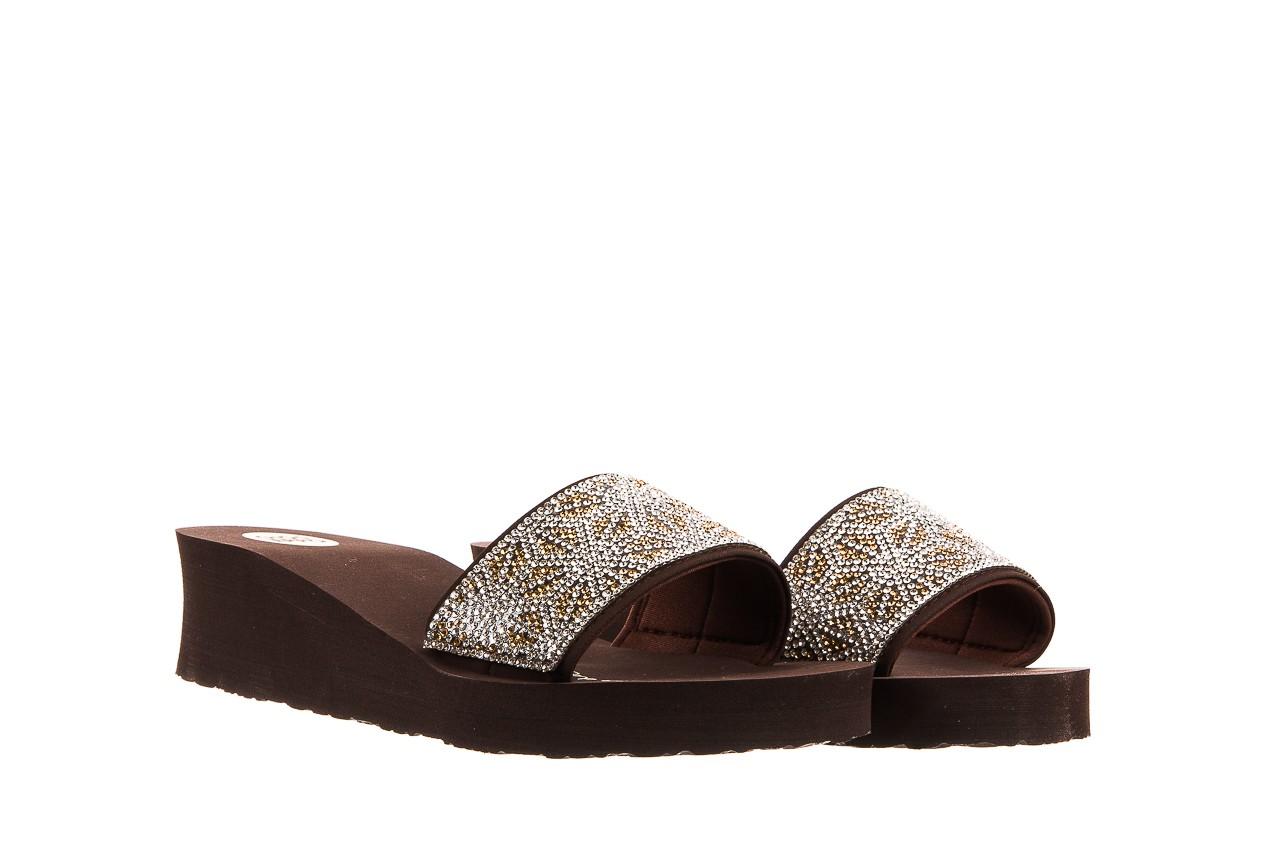 Klapki gioseppo andiara chocolate, brąz, guma - piankowe - klapki - buty damskie - kobieta 8
