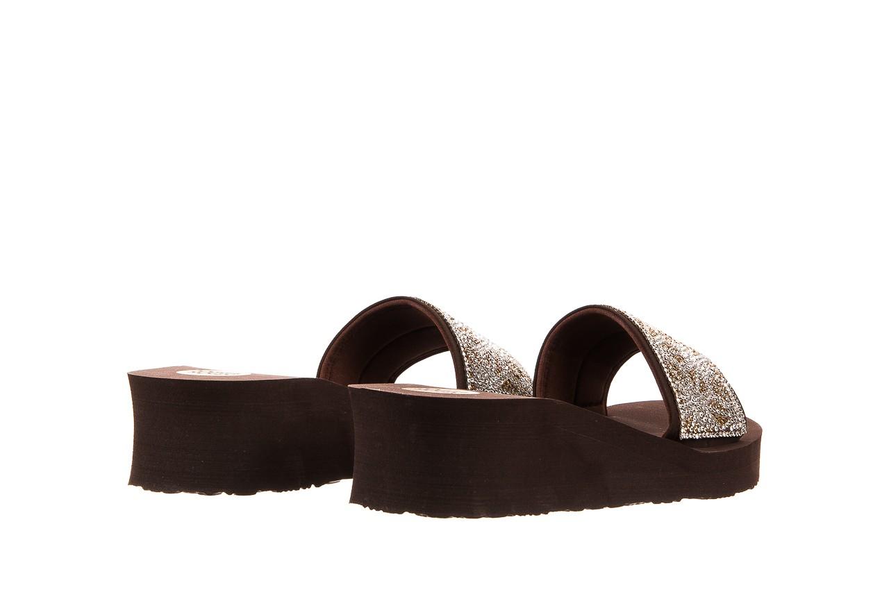 Klapki gioseppo andiara chocolate, brąz, guma - piankowe - klapki - buty damskie - kobieta 10