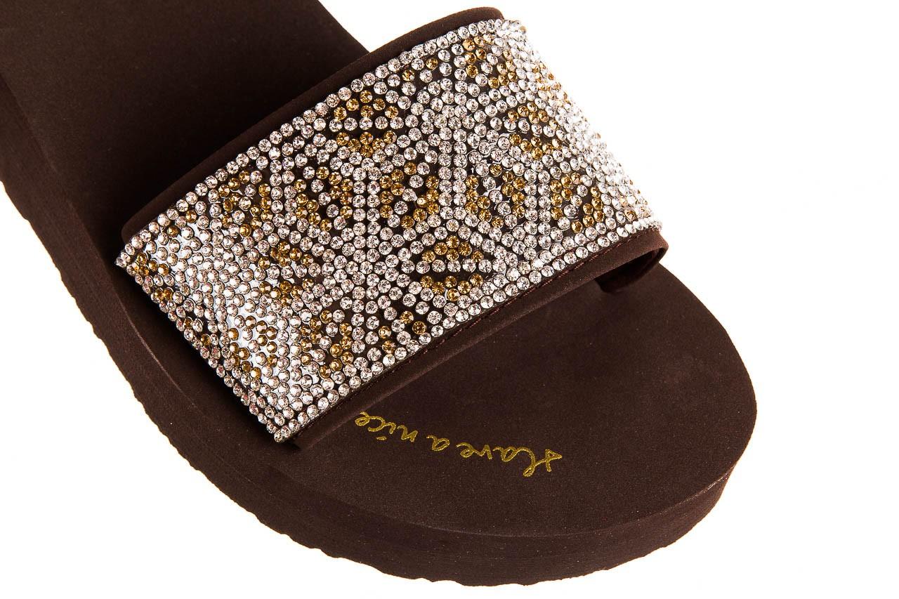 Klapki gioseppo andiara chocolate, brąz, guma - piankowe - klapki - buty damskie - kobieta 12