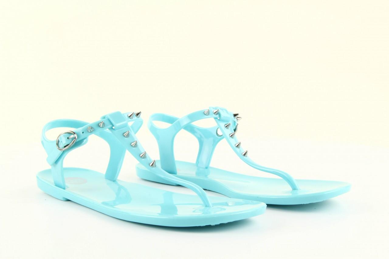 Sandały gioseppo bauhaus turquise, niebieskie, guma - gioseppo - nasze marki 12