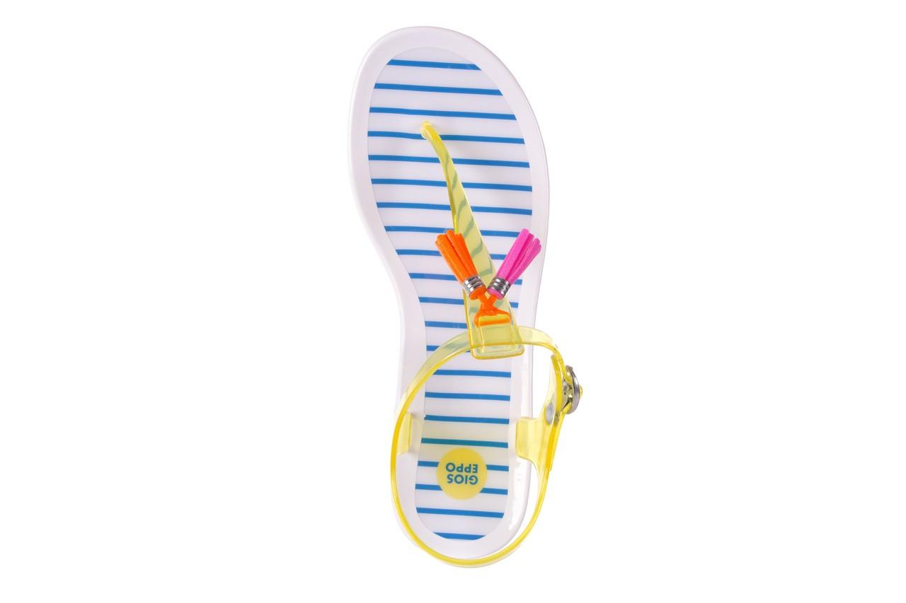 Sandały gioseppo binidali yellow, żółty, guma - gioseppo - nasze marki 10